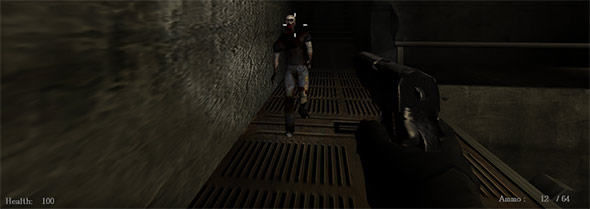 image of Dead Lab: shooting at zombies