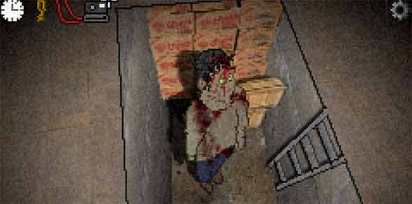 image of Don't Escape 2 - The Outbreak: zombie from general store