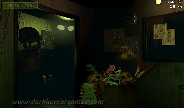 image of Five Nights At Freddys 3: control room