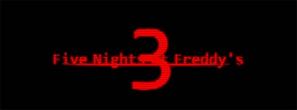 image of Five Nights At Freddys 3: logo