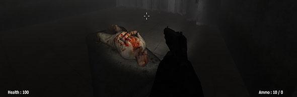 slenderman must die: gore scene