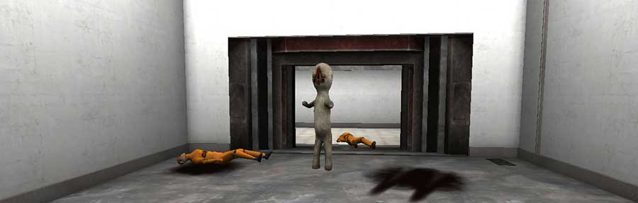 image of SCP Containment Breach: gameplay