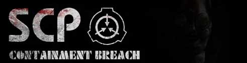 image of SCP Containment Breach Logo: secure contain protect