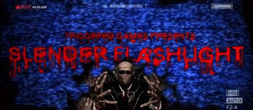 slender flashlight game poster