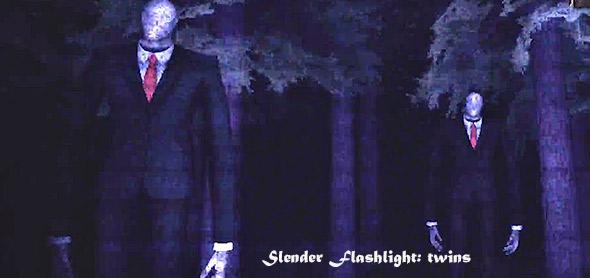 image of Slender Flashlight: twins mode