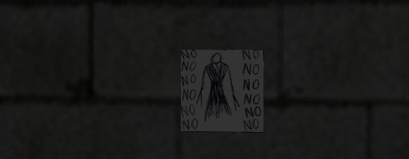 Slender-man creepy messages