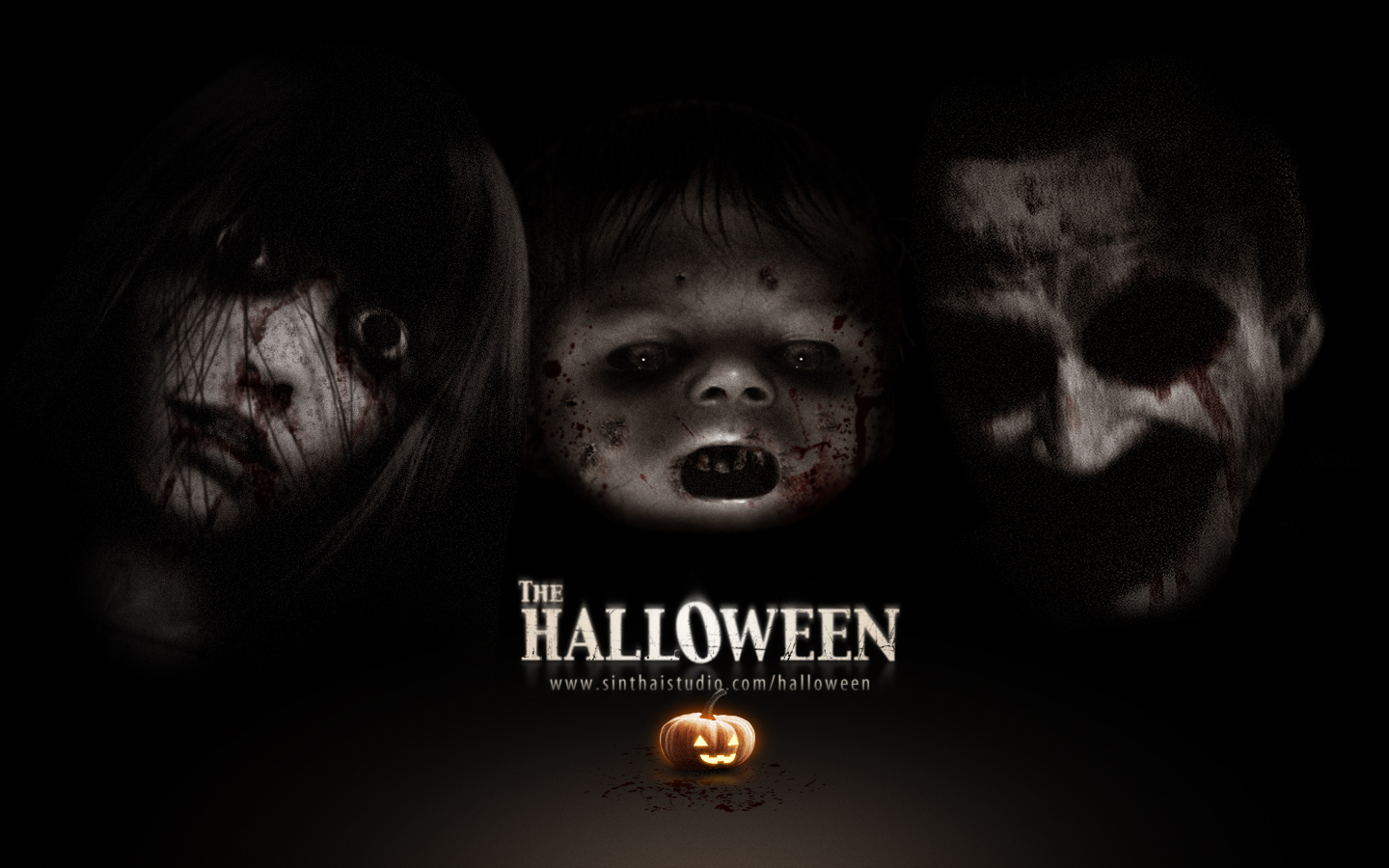 Sinthai helloween darkhorrorgames for Thai classic house 2