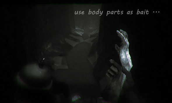 image of Der Unbekannte Krieg: body parts as bait