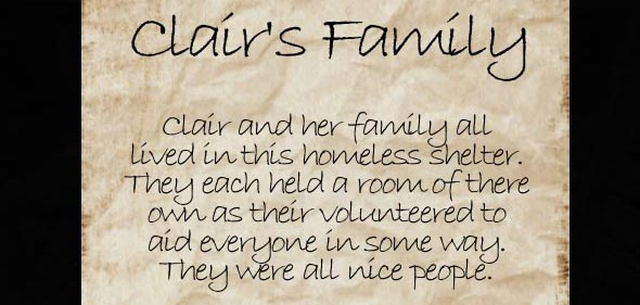 image of Unrested souls: message about Clair's family