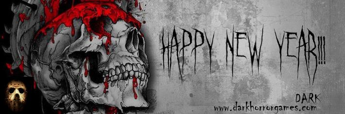 image of horror happy new year by dark