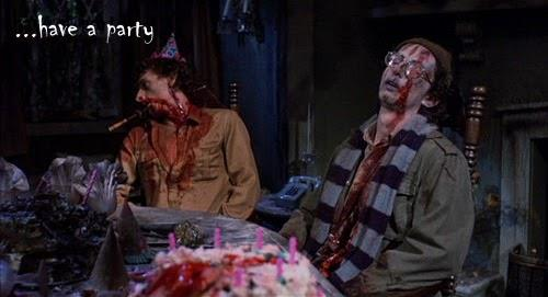 image of having a horror party