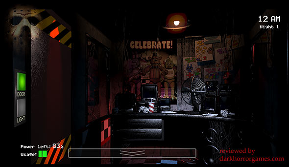 image of Five Nights At Freddy's: security room