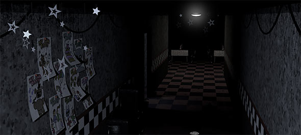 image of Five Nights At Freddy's: hallway
